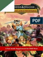 d&d Next - Chronicles of Mystara v.0.3