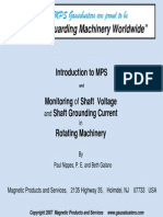 Monitoring of Shaft Voltage and Shaft Grounding Current - Beth Galano (MPS)