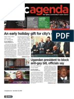 dcagenda.com - vol. 1, issue 6 - december 25, 2009