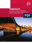 Minnesota UHS Broadband Report 2009
