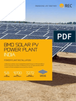 Module Rec Solar References