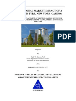 Market .Impact of a Proposed Tyre, New York Casino on Turning Stone.final.10.27.2014