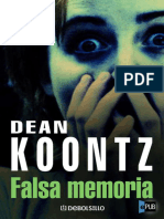 Falsa Memoria - Dean R. Koontz - 4456