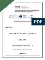 Manual Contabilidad Computarizada II - 2013 - i -II