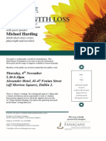 November Public Bereavement Event Flyer