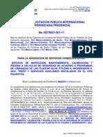 Bases Version Final de Licitación Pública Internacional Diferenciada 18578021-501-11