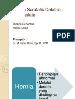 Hernia Scrotalis Inkarserata Dekstra.pptx