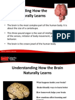 Understanding How the Brain Naturally Learns