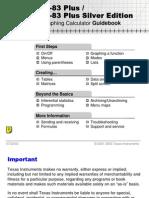 TI 84 Plus Graphing Calculator Guidebook