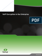 VoIP Encryption in the Enterprise