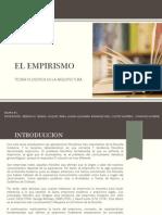 El Empirismo-Equipo #1. Saia Psm. Genesis Mendoza