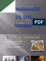 Constitucion de Una Empresa Diapositiva