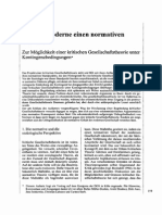 BONACKER, Torsten - Hat Die Moderne Einen Normativen Gehalt