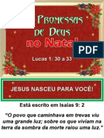 As Promessas de Deus No Natal