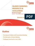 Islamic Banking - Prospects and Challenges in India - PA Shameel Sajjad - Zirva Institute of Islamic Finance