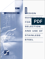 Design Guidelines for the Selection and Use of Stainless Steel