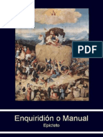 Enquiridion o Manual Epicteto