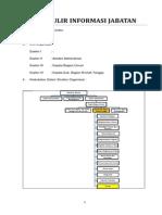 Formulir Informasi Jabatan Caraka