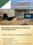 Rusztowania i Deskowania mostowych obiektów stalowych i betonowych