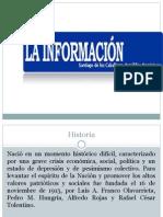 Historia del periódico La Información
