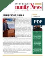 January 2010 Community News