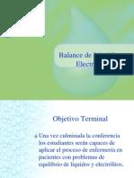 Balance Líquidos y Electrolítos