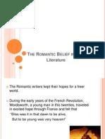The Romantic Belief in Liberty