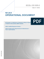 IECEx OD 005-2 Atex Quality System - Audit Checklist