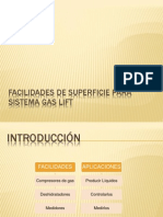 Facilidades de Superficie Para Sistema Gas Lift