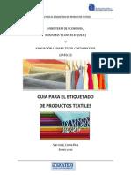 Guia de Etiquetado Textil
