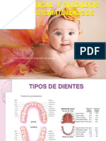 Caries Dental, higiene bucal y cuidados estomatológicos