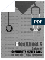Guide to Community Healthcare in Greater Nola
