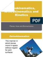 Osteokinematics and Kinetics