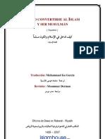 CÓMO CONVERTIRSE AL ISLAM Y SER MUSULMÁN