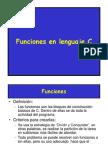 Funciones en Lenguaje C Oto2014