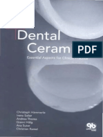 Dental Ceramics. Essential Aspects for Clinical Practice