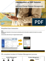 Mobile IT Service Management on SOLMAN