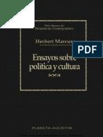 Ensayos Sobre Política y Cultura