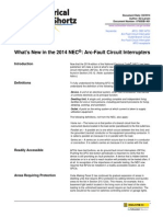 What's New in the 2014 NEC - Arc-Fault Circuit Interrupters.pdf