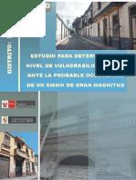 Informe - Vulnerabilidad Sismica - Rimac