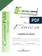 Concurso Docente - PROVA OBJETIVA - IFMS 2014