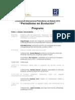 Programa completo Conferencia Periodismo en Debate 2014