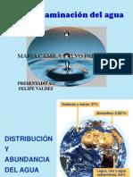 contaminacion del agua.ppt
