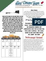 october 30th newsletter