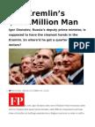 The Kremlin's $220 Million Man