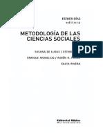 La Problematica Del Método en Ciencias Naturales y Sociales