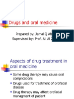 Drugs and Oral Medicine