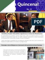 Boletín de noticias de la Embajada de Colombia en Ecuador - Octubre
