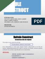 Defrule Construct IA