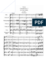 Mozart - Violin Concerto No 3 in G K 216